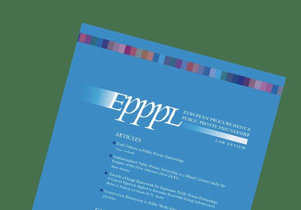 EPPPL - European Procurement & PPP Law Review