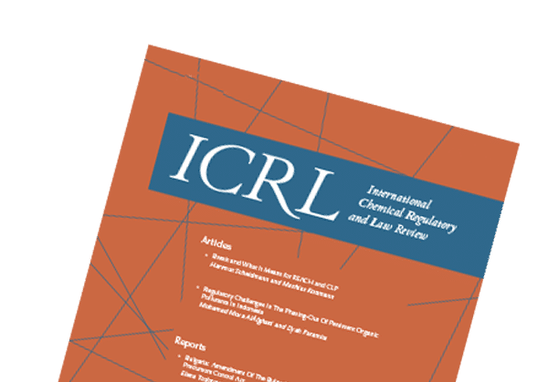 ICRL – International Chemical Regulatory and Law Review