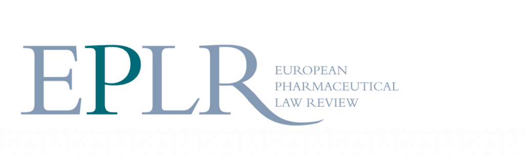 EPLR – European Pharmaceutical Law Review - Lexxion