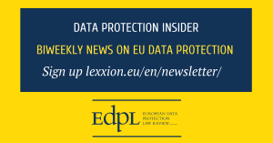 Lexxion Data Protection Insider