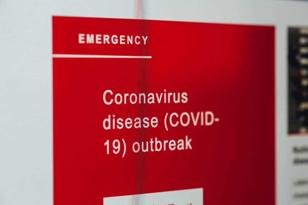 corona virus poster