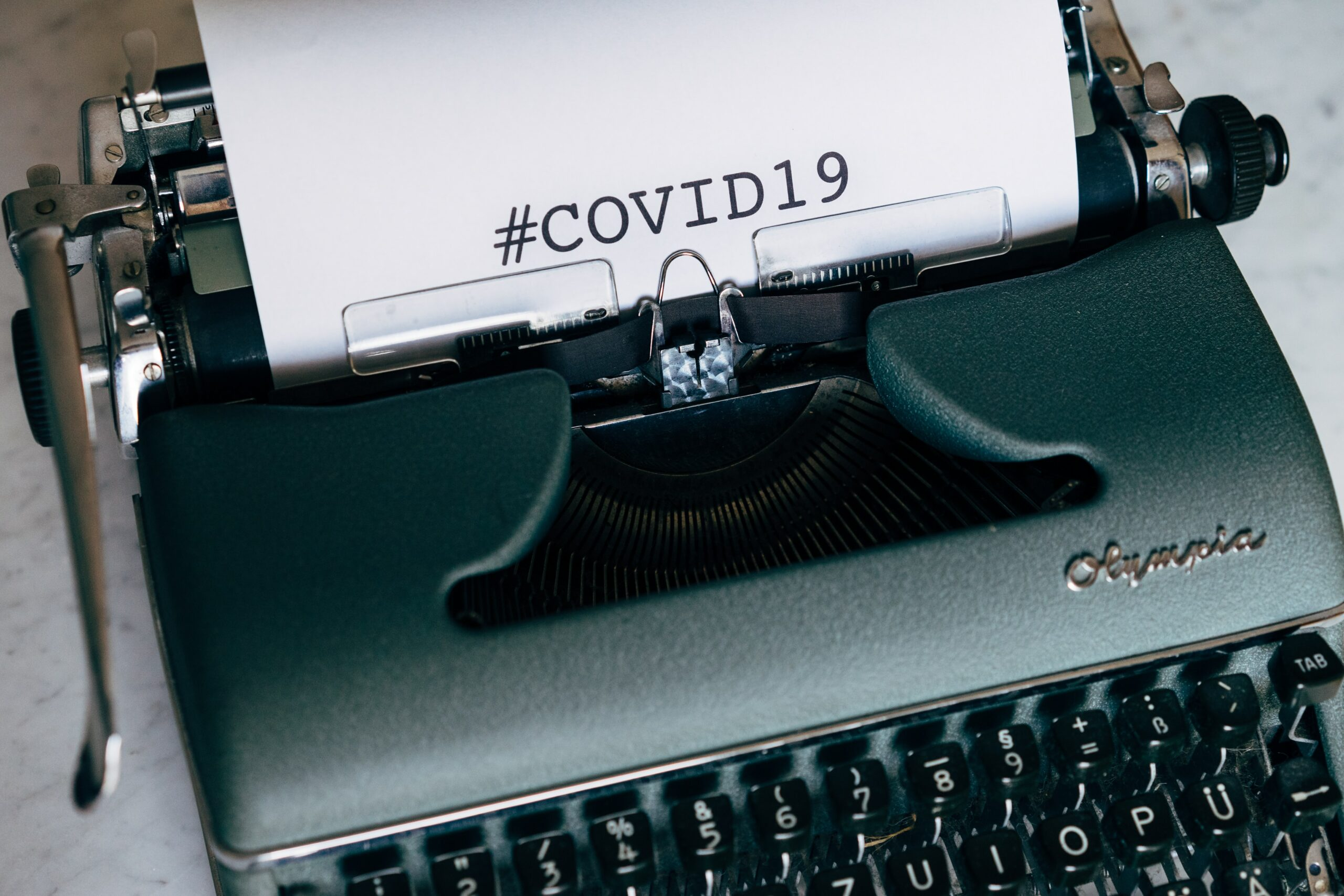 Typewriter, Covid-19 Articles