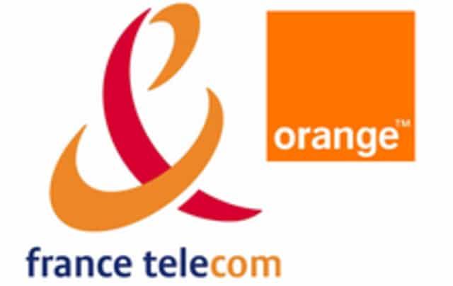 france telecom orange logo