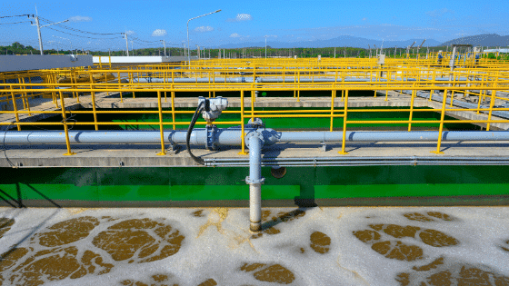 water processing plant